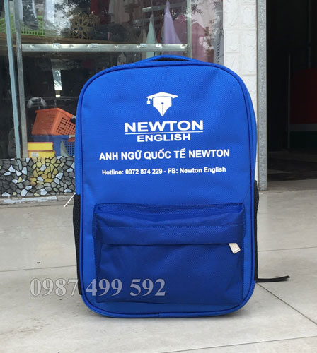 Mẫu balo anh ngữ quốc tế Newton