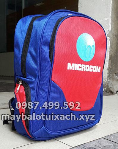 balo quà tặng công ty Microcom