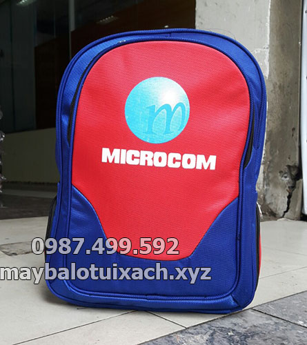 Sản xuất balo laptop Microcom