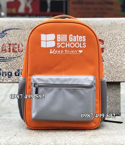 Balo quà tặng trường Bill Gates