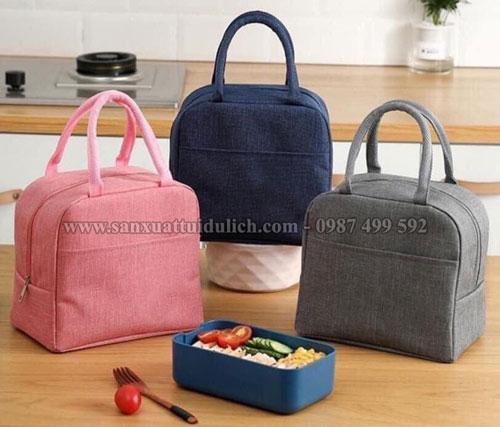 Sản xuất túi giữ nhiệt đựng cơm