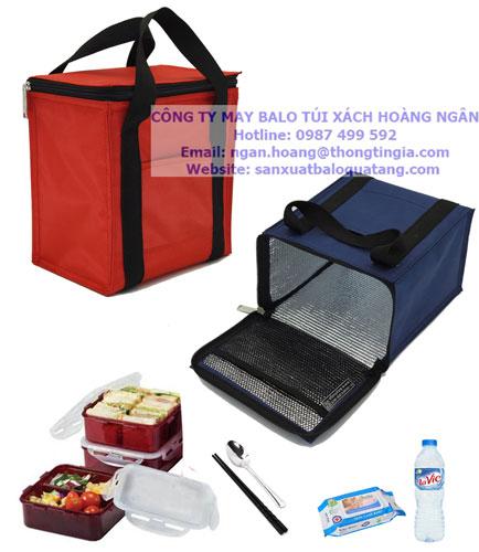 Sản xuất túi giữ nhiệt đựng thực phẩm