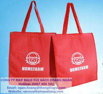 Sản xuất túi giữ nhiệt Homefarm