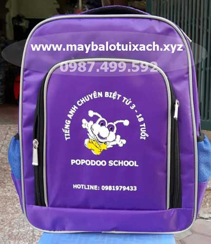 Sản xuất balo Popodoo school