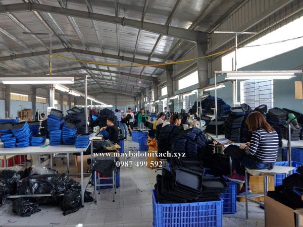 Nhà máy sản xuất balo