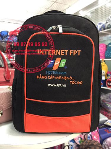 Sản xuất balo quà tặng Internet FPT
