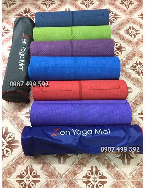 Xưởng may túi đựng thảm yoga theo yêu cầu