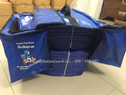 Túi đôi giao hàng may theo yêu cầu