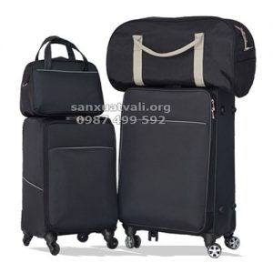 sản xuất set vali túi du lịch