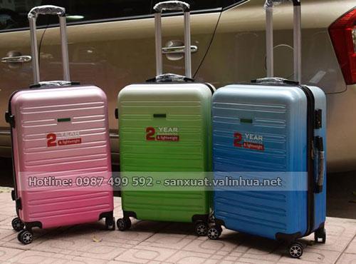 công ty sản xuất vali nhựa tại Hà Nội