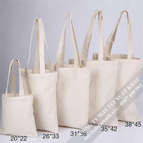 sản xuất túi vải canvas xuất khẩu