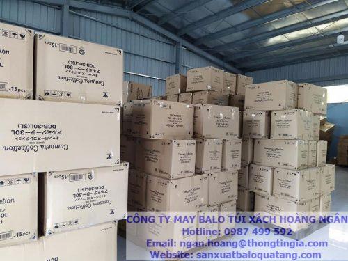 Kho hàng xuất khẩu tại nhà máy