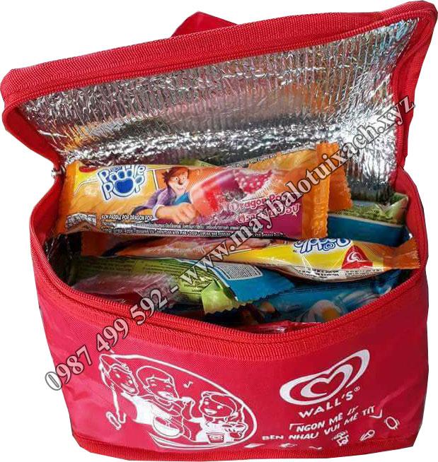 Sản xuất túi giữ nhiệt lạnh đựng kem